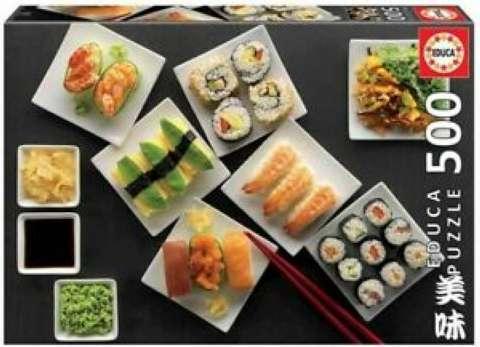 Sushi - 500 brikker