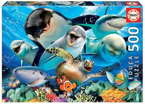 Underwater Selfies - 500 brikker