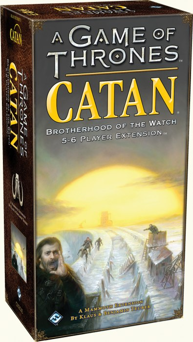 Image of A Game of Thrones Catan: Brotherhood of the Watch 5-6 Player Extension