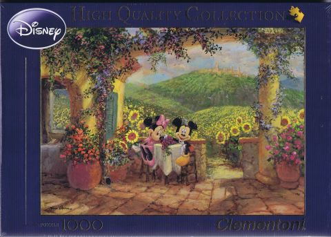 Minnie & Mickey Tuscan Love, 1000 brikker (1)