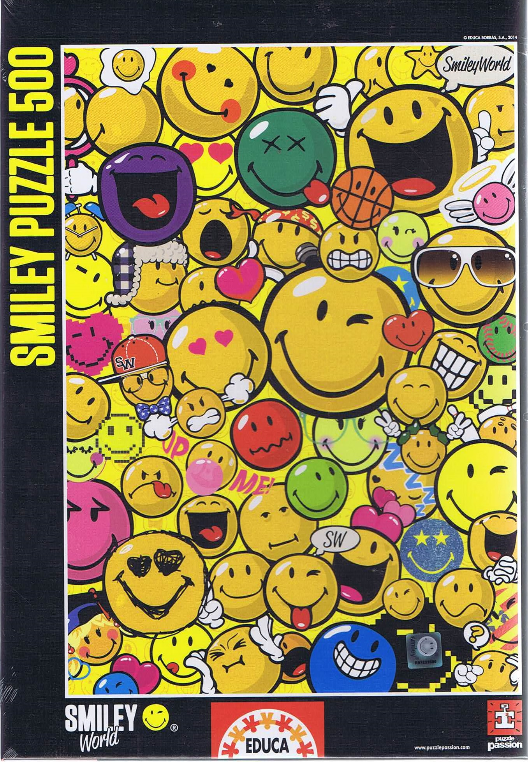 Smiley World, 500 brikker