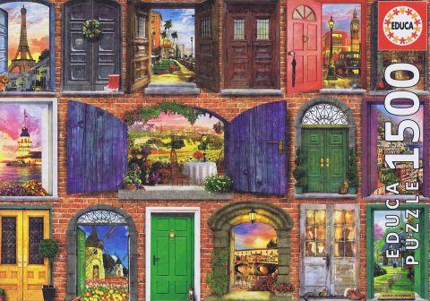 Doors of Europe - 1500 brikker