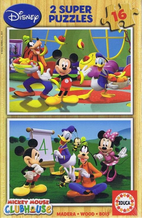 Mickey Mouse, clubhouse, 2x16 brikker (1)