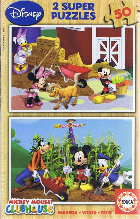 Mickey Mouse Clubhouse, 2x50 brikker (1)