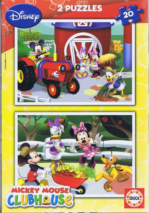 Mickey Mouse clubhouse, 2x20 brikker (1)