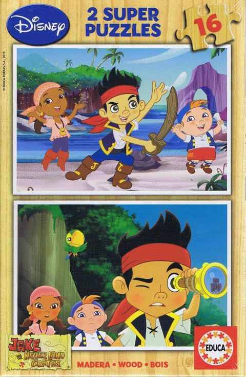Jake never land pirates, 2x16 brikker