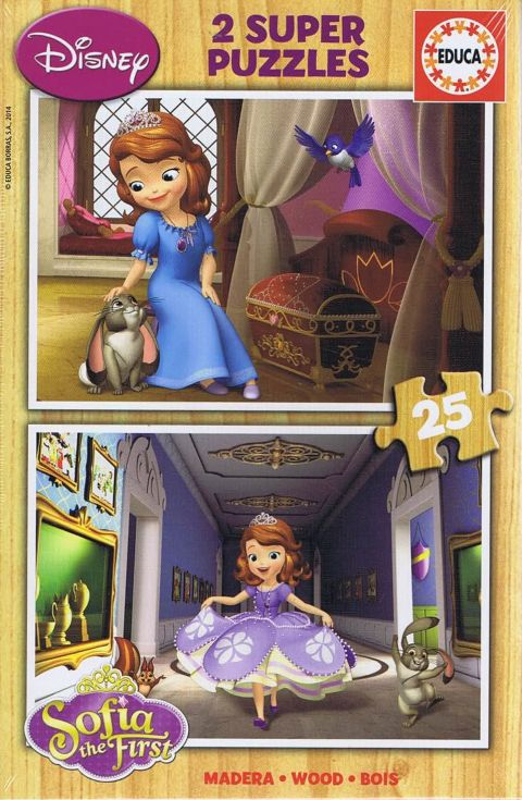 Sofia the First, 2x25 brikker