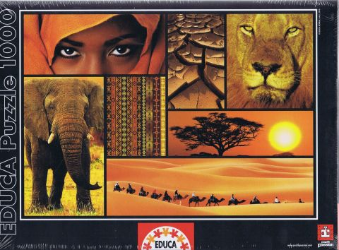 Colours of Africa, 1000 brikker (1)