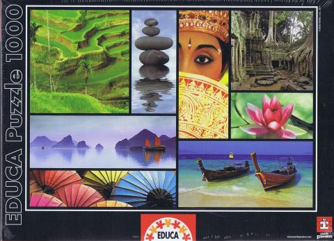 Colours of Asia, 1000 brikker (1)