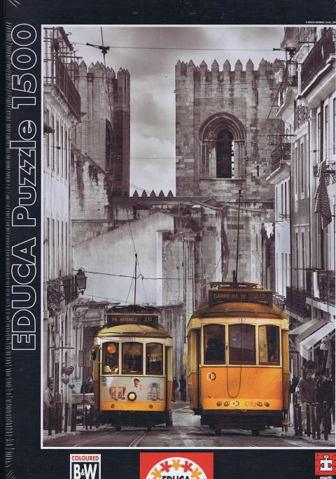 The Alfama Districct, Lisbon, 1500 brikker