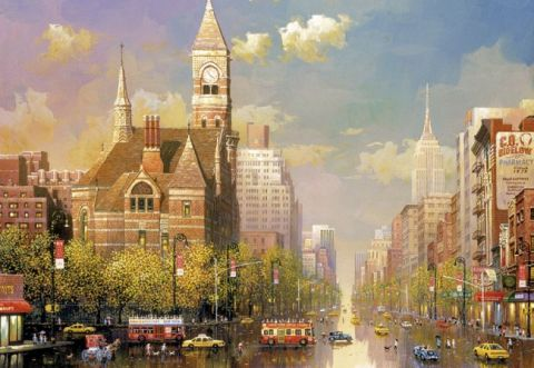 New York Afternoon, 6000 brikker (1)
