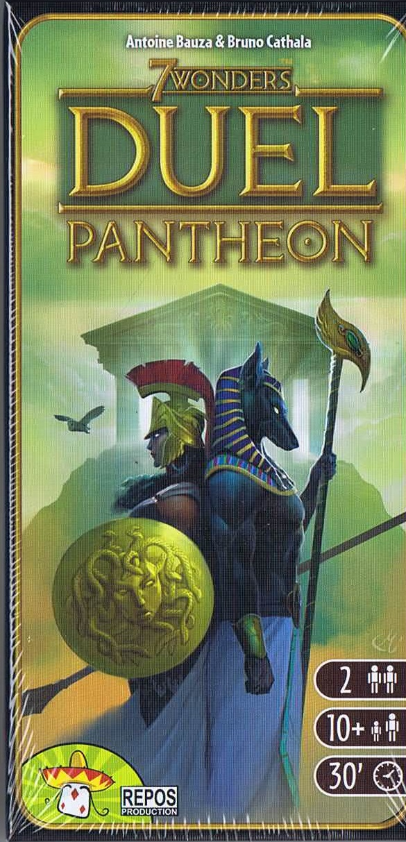 Image of 7 Wonders Duel Pantheon - dansk