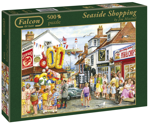 Seaside Shopping 500 brikker