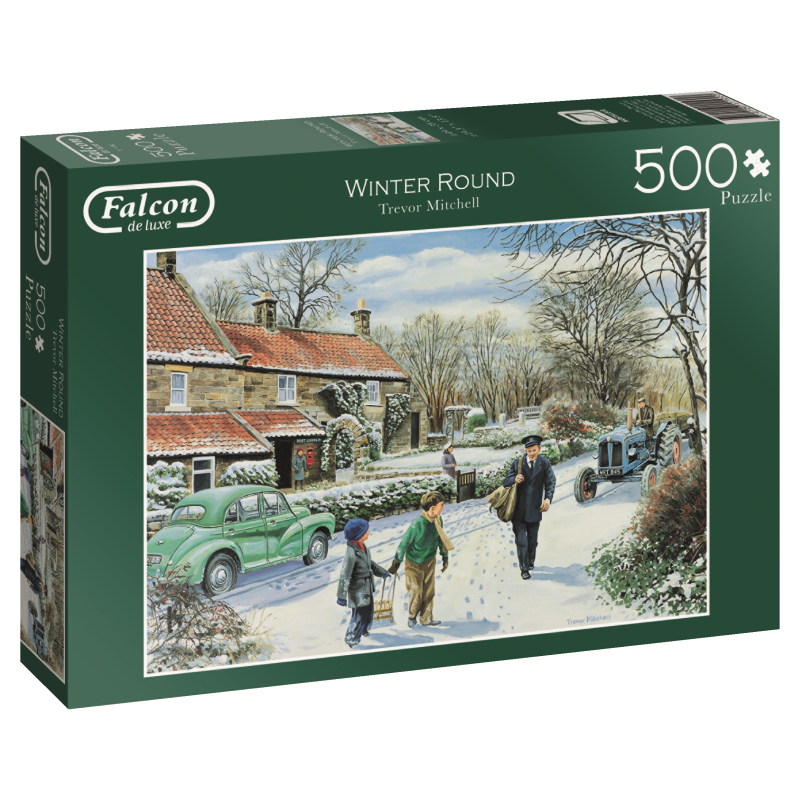 Image of   Winter Round, 500 brikker