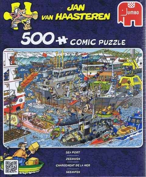 Jan van Haasteren - Sea Port - 500 Brikker (1)