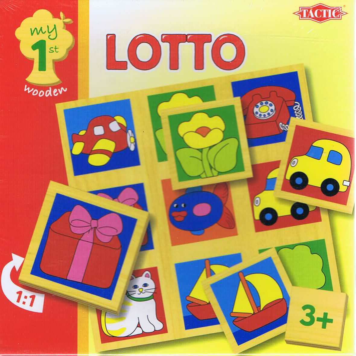 Lotto, my 1st wooden