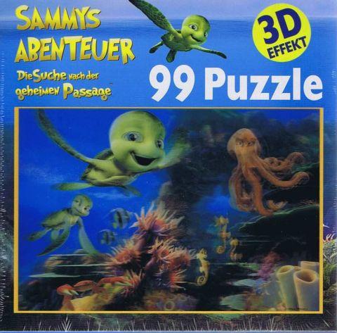 Unterwasserwelt, 3D, 99 brikker