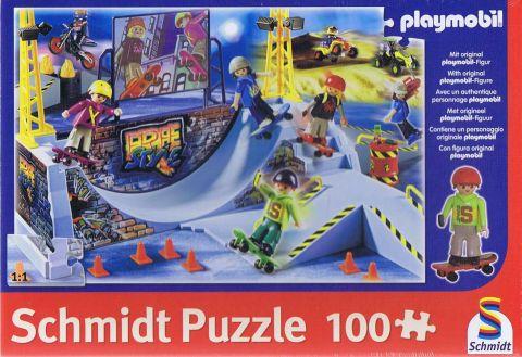 Skater Park, playmobil, 100 brikker