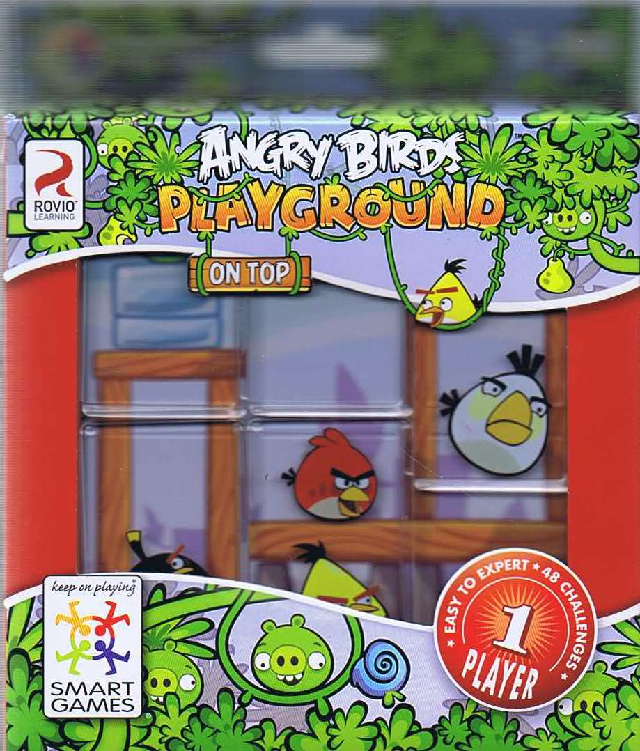 Image of Angry Birds Playground, On Top