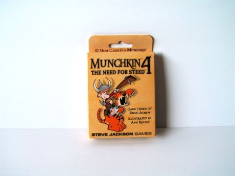 Munchkin 4 - The need for steed (1)