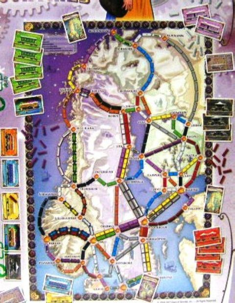 Ticket to ride Nordic Countries (2)