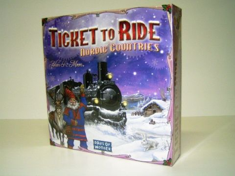 Ticket to ride Nordic Countries (1)