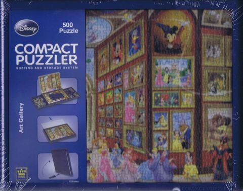 Art Gallery, Compact puzzle, 500 brikker (1)