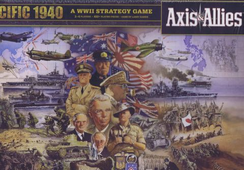 Axis & Allies, Pacific 1940, Second Edition (1)