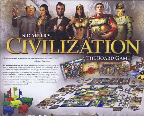 Civilization, the board game (2)