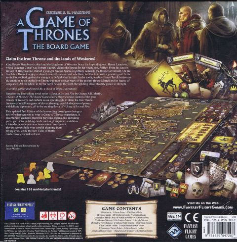 A Game of Thrones: The Board Game 2nd edition (2)