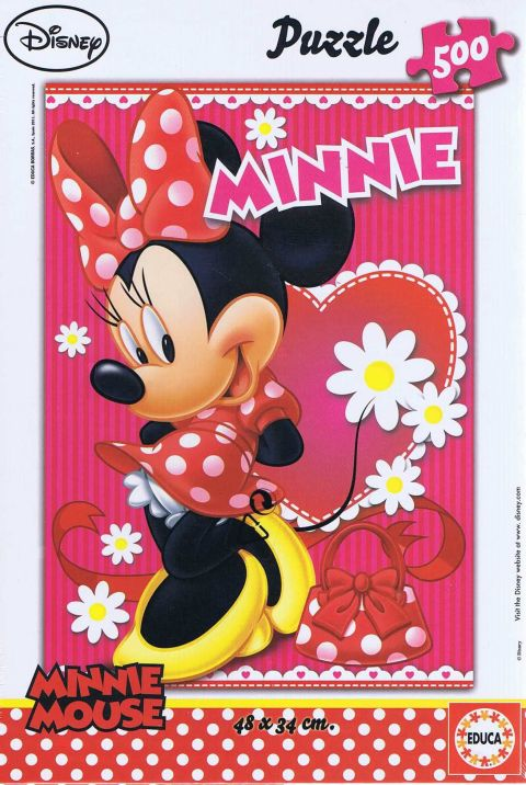 Minnie Mouse, 500 brikker (1)