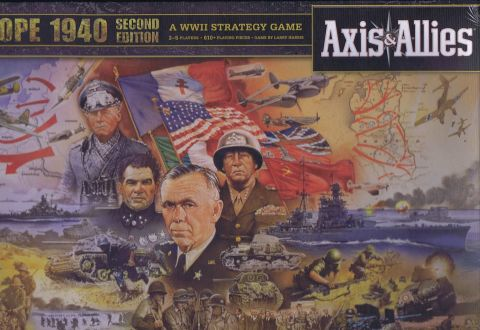 Axis & Allies, Europe 1940, second edition (1)