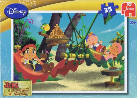 Jake never land pirates, 35 brikker (1)