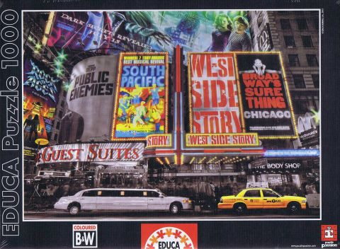 New York Theatre Signs, 1000 brikker (1)