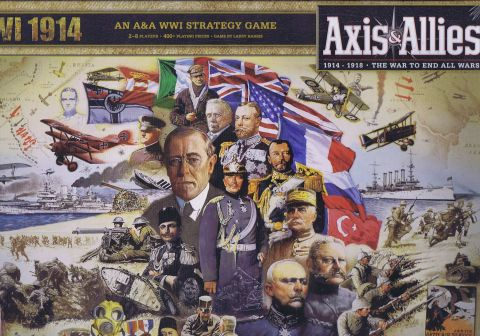 Axis & Allies, 1914: The World is at War! (1)