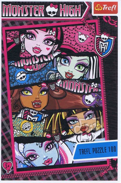 Monster High, 100 brikker (1)