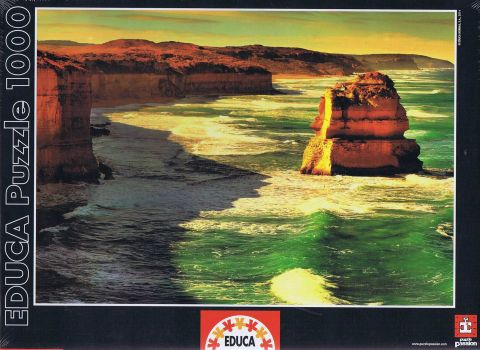 Great Ocean Road, Australia, 1000 brikker (1)