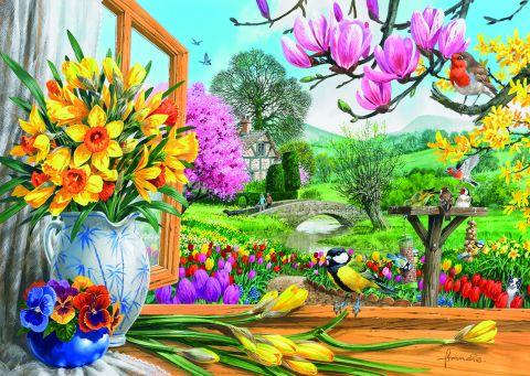 Springtime Splendour, 500 brikker