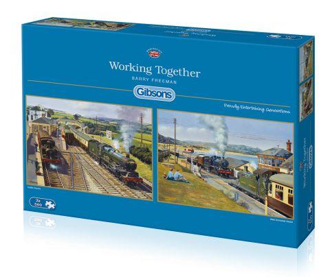 Working Together, 2x500 brikker