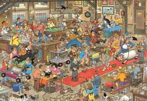 The Dog Show, 1000 brikker