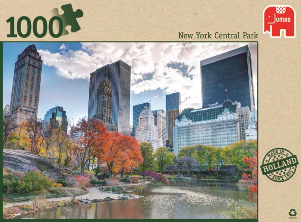 Image of   New York Central Park, 1000 brikker
