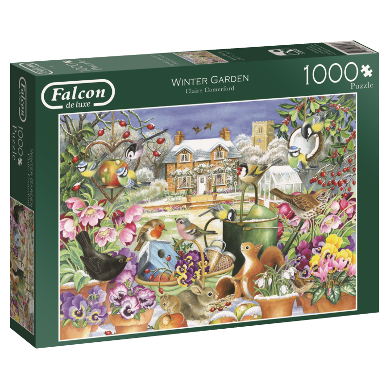 Image of   Winter garden, 1000 brikker