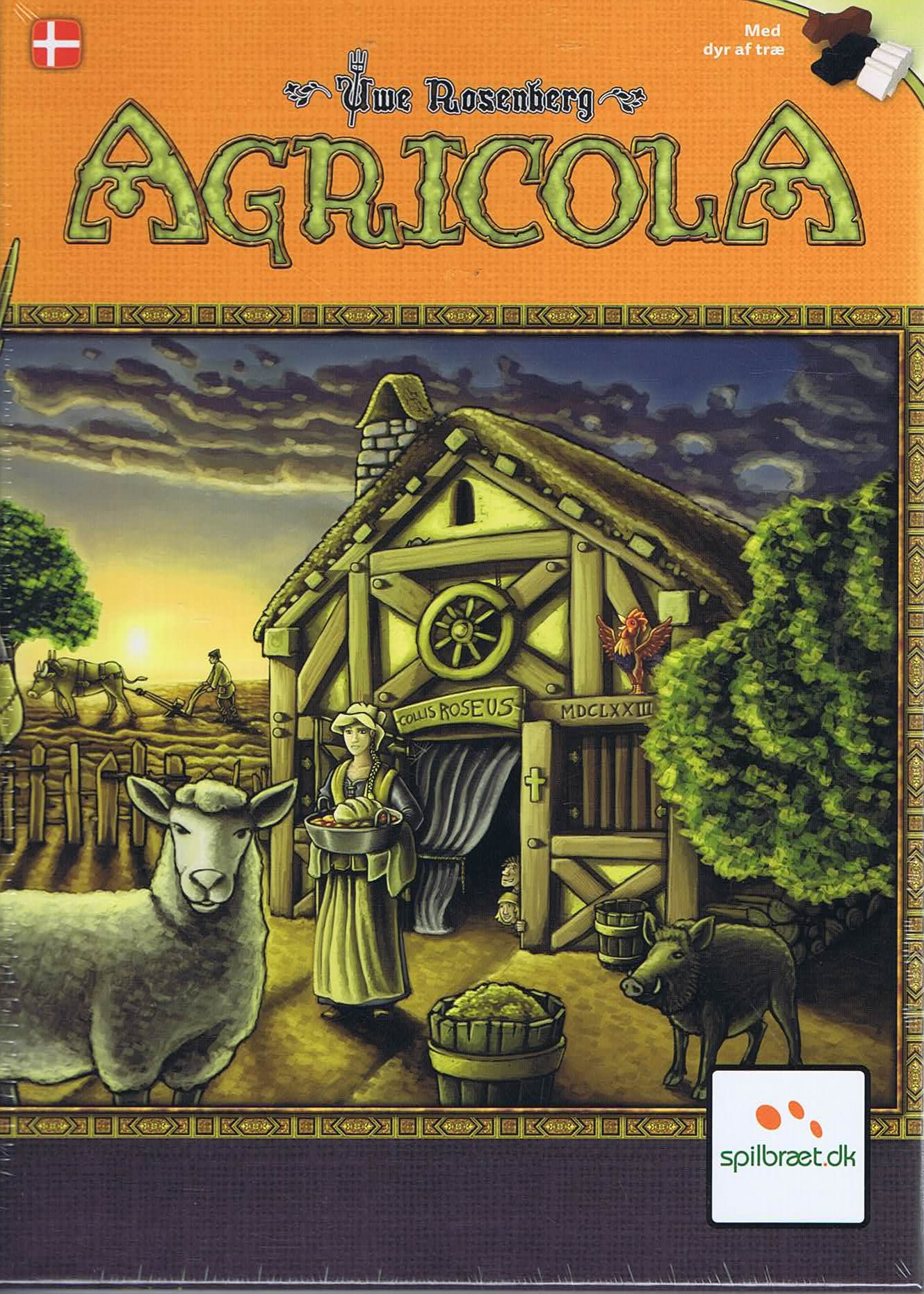 Image of Agricola - dansk
