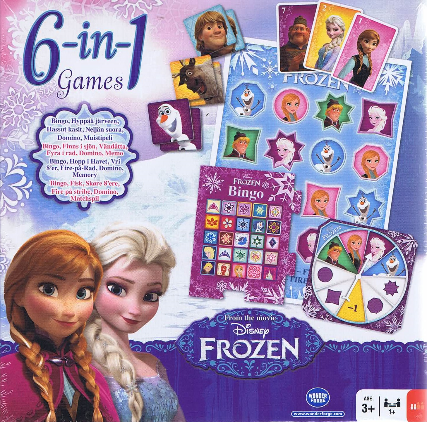 Image of 6-in1 games, Frozen