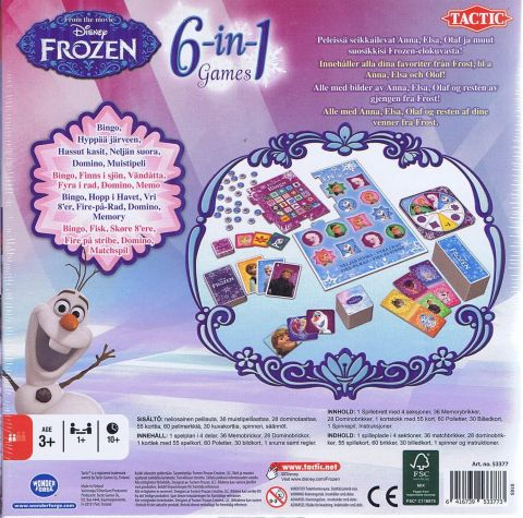 6-in1 games, Frozen (2)