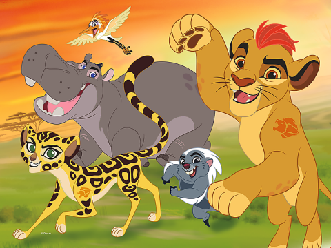 Lion King - The Lion Guard, 30 brikker (2)