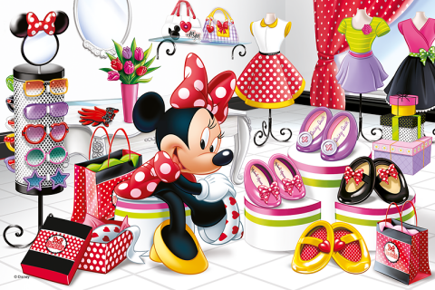Minnie Mouse, 60 brikker (2)