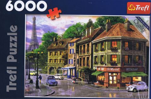 Street of Paris, 6000 brikker