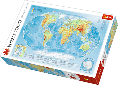 Map of the World, 1000 brikker
