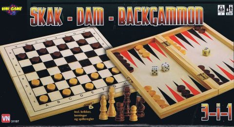 3 i 1, skak - dam - Backgammon (1)